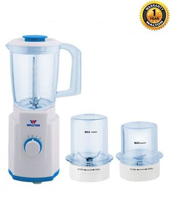 Picture of Walton WB-AM630 3 in 1 Multi-Functions Juicer with Blender - White and Blue