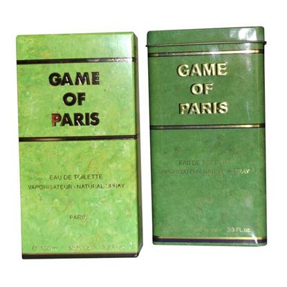 Picture of Game of Paris Eau De Toilette Perfume 100 ml