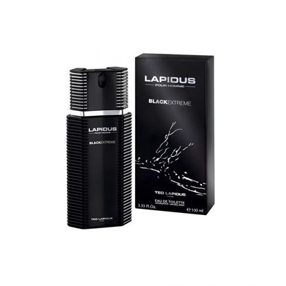 Picture of Lapidus Pour Homme Black Extreme Perfume 100Ml