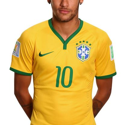 Picture of Brazil Home Jersey 2014-15