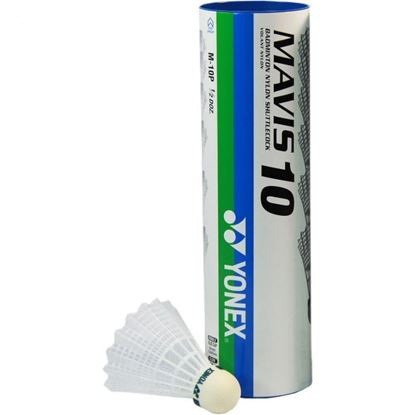 Picture of Yonex Mavis 10 Badminton Shuttlecock (White) 6 pcs