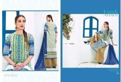 Picture of AZZAH Eco Green & Blue