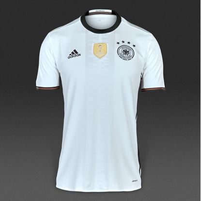 Picture of Germany Football Jersey 16/17 (White)