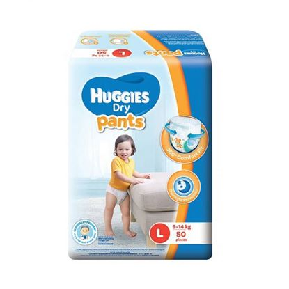 Picture of Huggies Dry Pants-L (9-14kg) 50 Pieces
