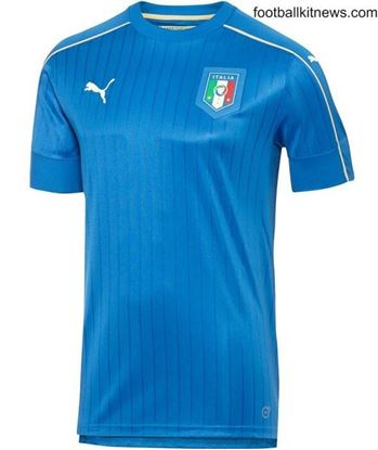 Picture of Italy Football Jersey 16/17 (Blue)