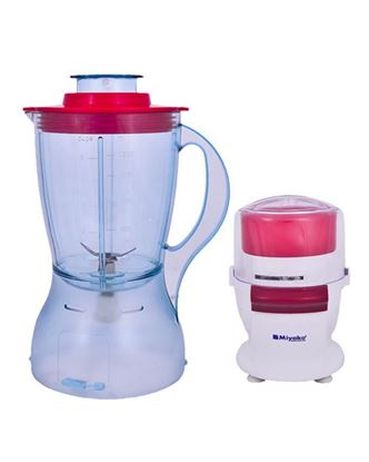 Picture of Miyako MC 660 1.2L Chopper Blender - White and Red