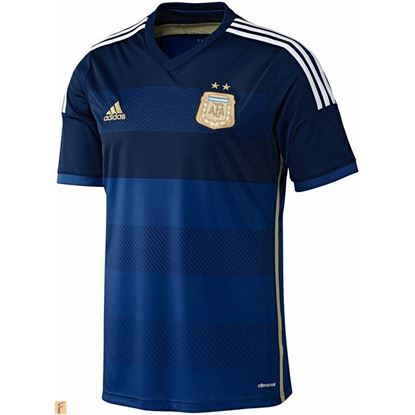 Picture of Argentina World Cup 2014 Half Sleeve Away Jersey