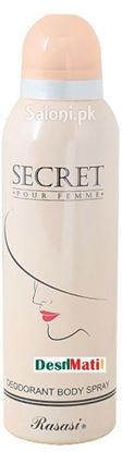 Picture of Rasasi Secret Pour Femme Deodorant body spray
