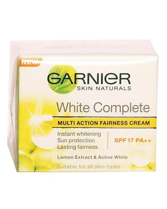 Picture of Garnier White Complete Multi Action Fairness Cream - 40gm