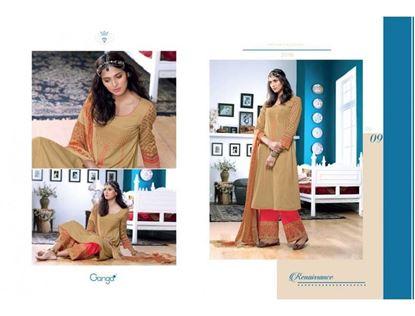 Picture of Ganga Fashion Sand & Carmine