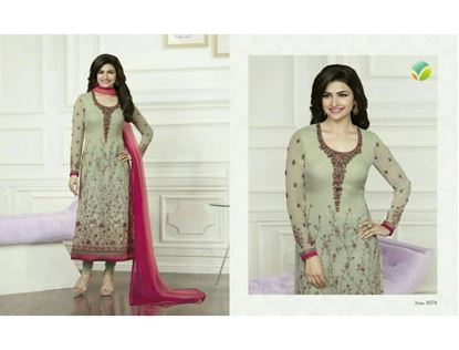 Picture of Vinay Fashion Honeydew and red