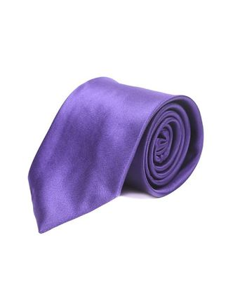 Picture of Exclusive Silk Official Tie - Berry Blue
