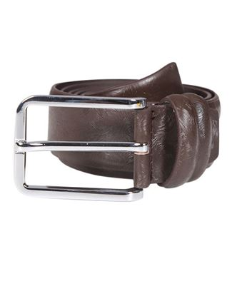 Picture of Yamin Exclusive Men's Official Ring Buckle Leather Belt - Brown