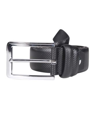 Picture of Yamin Exclusive Men's Official Ring Buckle Leather Belt - Black