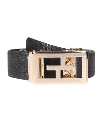 Picture of Yamin Exclusive Men's Offcial Gear Leather Belt - Black