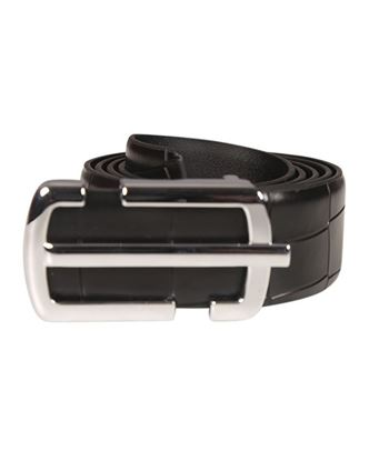Picture of Yamin Exclusive Men's Box Leather Belt - Black