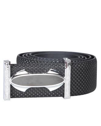 Picture of Yamin Exclusive Leather Formal Box Belt - Black