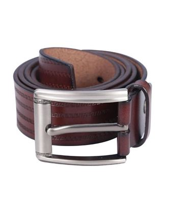 Picture of Yamin Exclusive Leather Casual Belt - Chocolate