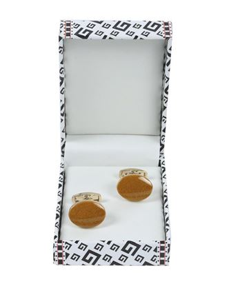 Picture of Yamin Exclusive Men's Cufflink - Orange