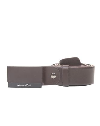 Picture of Yamin Exclusive Formal Belt for Men - Massimo Dutti Chocolate