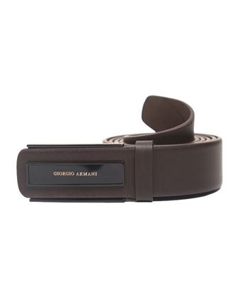 Picture of Yamin Exclusive Leather Formal Belt for Men - Chocolate