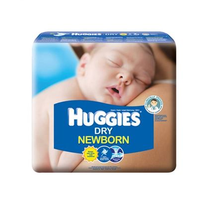 Picture of Huggies Dry New Born 60 Pieces