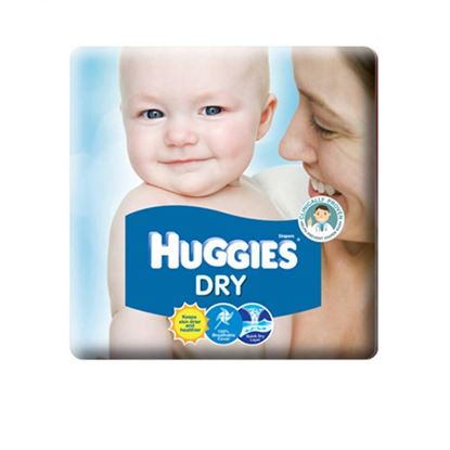 Picture of Huggies Dry-L (8-13kg) 60 Pieces