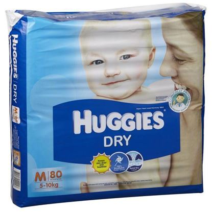 Picture of Huggies Ultra Diapers 80 Pcs