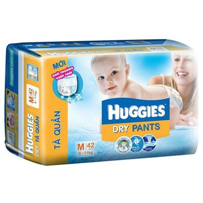 Picture of Huggies Dry Diapers M 9-14 Kg (50pcs)