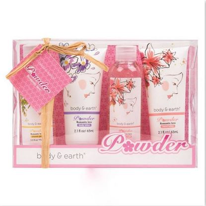 Picture of Body & Earth Romantic Love Bath & Body Gift Set