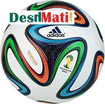 Picture of Adidas Brazuca 2014 Match Football Grade-1