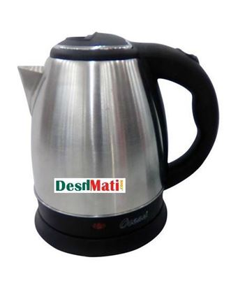 Picture of Ocean OEK528 Electric Kettle 1.5L - Silver and Black