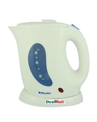 Picture of  Miyako Miyako MK 10 1L Electric Kettle - White and Blue