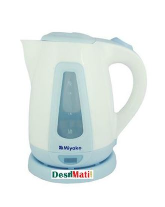 Picture of Miyako MK 21 1.8L Electric Kettle - White and Green