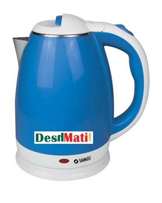 Picture of  Shimizu Shimizu SM-1840 Electric Kettle 1.8L - Blue and White