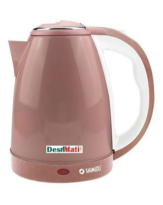 Picture of  Shimizu Shimizu SM-1820 Electric Kettle 1.8L - Pink and White