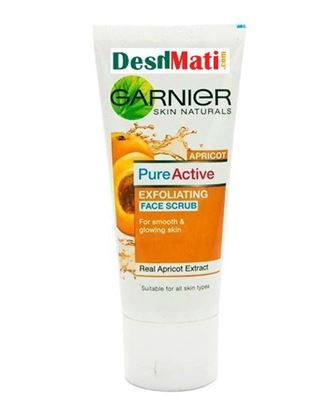 Picture of Garnier Pure Active Exfoliating Face Scrub - 100gm