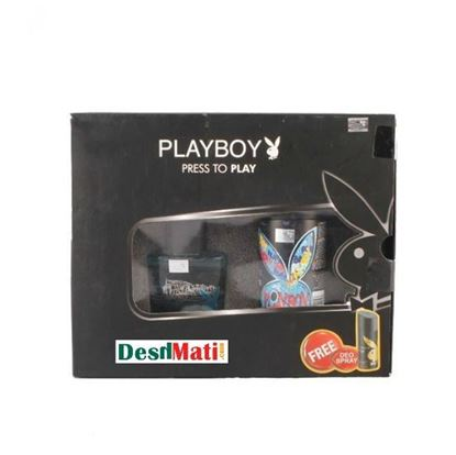 Picture of Play Boy London Perfume & Deodorant Pack