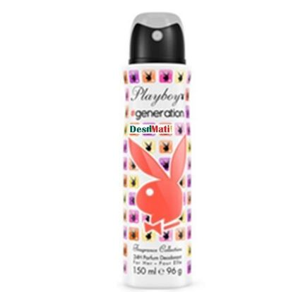 Picture of Playboy-generation-24h-parfume-deodorant-for-her-150ml