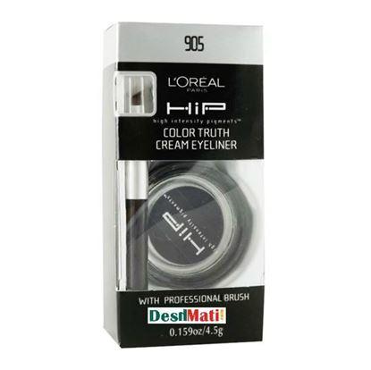 Picture of L'Oreal Paris HiP Truth Cream Eyeliner - 905 Black