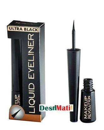 Picture of Makeup Revolution Liquid Eyeliner Ultra Black - 3ml