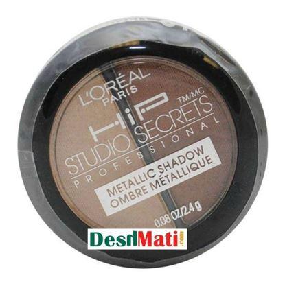 Picture of L'Oreal Paris HiP Metallic Eye Shadow Powder Duo - Energized 810