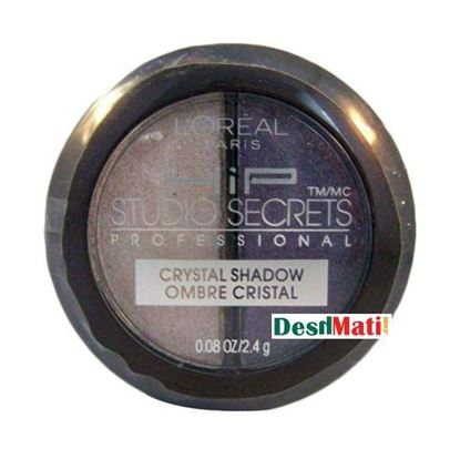 Picture of L'Oreal Paris HiP Metallic Eye Shadow Powder Duo - Charming 519
