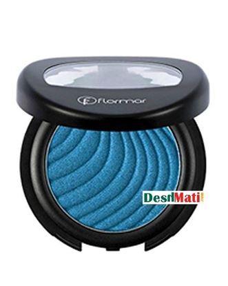 Picture of Flormar Metallic Eye Shadow - Blue Dawn