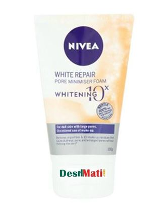 Picture of Nivea White Repair Pore Minimiser Foam for Women - 100g