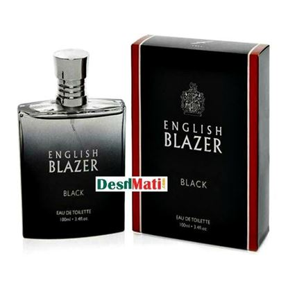 Picture of English Blazer Black Eau De Toilette Perfume 100ml