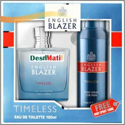 Picture of English Blazer Timeless EDT Men's Perfume, 100ml