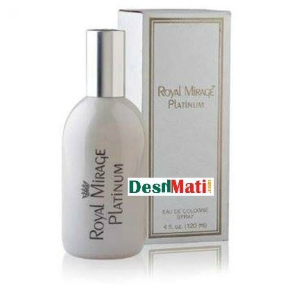 Picture of Royal Mirage Platinum Eu De Cologne Spray-120 ml