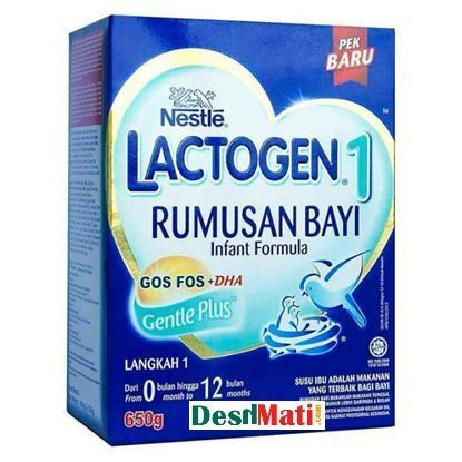 Picture of Nestle‬ Lactogen -1 Rumusan Bayi Infant Fourmula - 650gm.