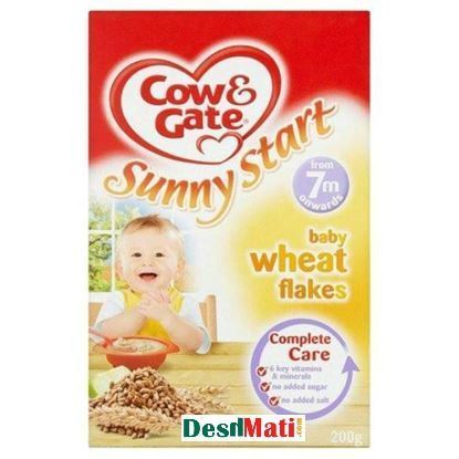 Picture of Cow & Gates Sunny Start Wheat Flakes For 7+ Months (200 Gm).